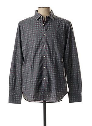 Chemise manches longues gris GMF 965 pour homme