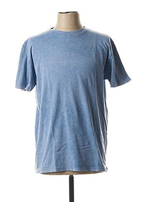 T-shirt manches courtes bleu MCL pour homme