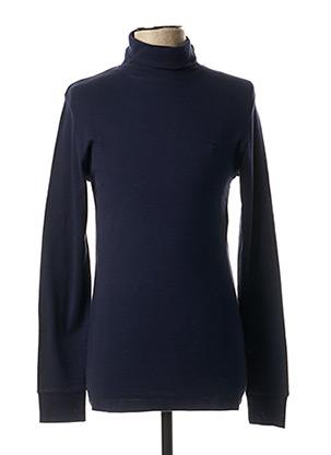 T-shirt manches longues bleu RIVER WOODS pour homme