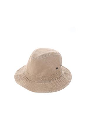 Bonnet marron STETSON pour homme