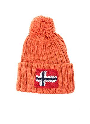 Bonnet orange NAPAPIJRI pour unisexe