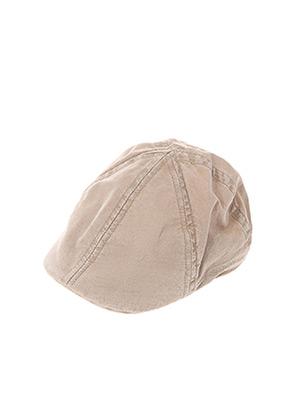 Chapeau beige STETSON pour homme