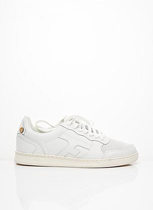 Baskets blanc FAGUO pour homme