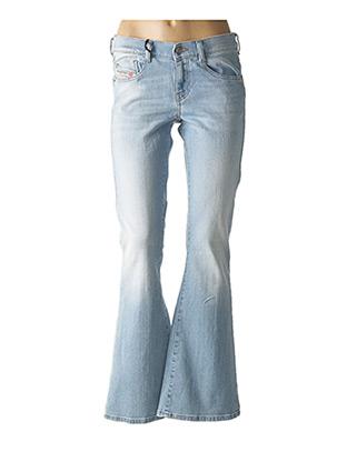 Jeans bootcut bleu DIESEL pour femme