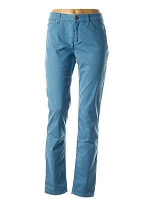 Jeans coupe droite bleu OUI pour femme