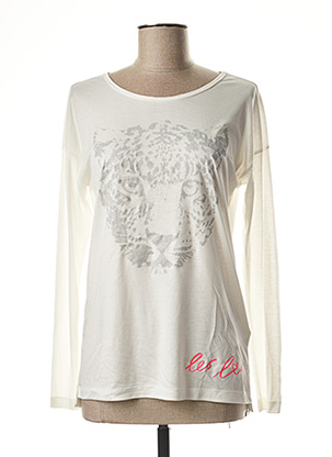 T-shirt manches longues blanc MARC CAIN pour femme