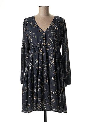 Robe courte bleu BANANA MOON pour femme