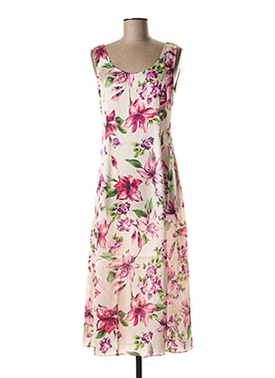 Robe mi-longue rose LIU JO pour femme