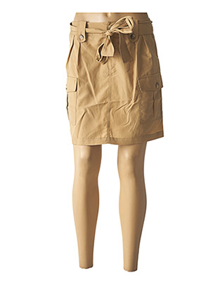 Jupe courte beige LIU JO pour femme