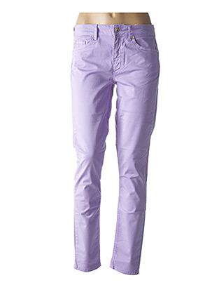 Pantalon casual violet LIU JO pour femme