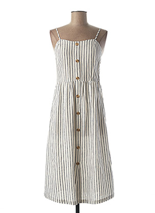 Robe courte blanc ONLY pour femme