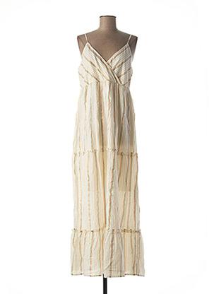 Robe mi-longue blanc VERO MODA pour femme