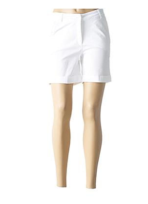 Short blanc LE PETIT BAIGNEUR pour femme