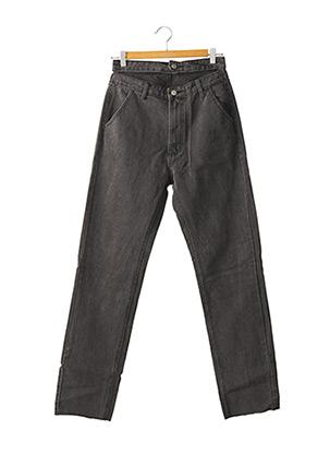 Jeans coupe droite noir NASTY GAL pour femme
