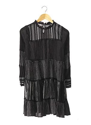 Robe courte noir ZARA pour femme