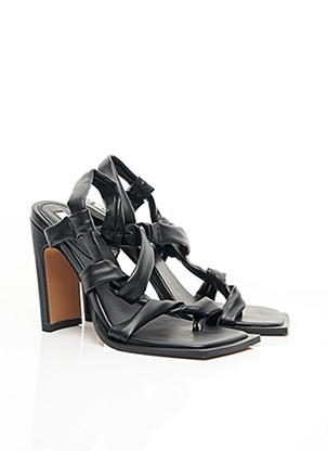 Sandales/Nu pieds noir NA-KD pour femme
