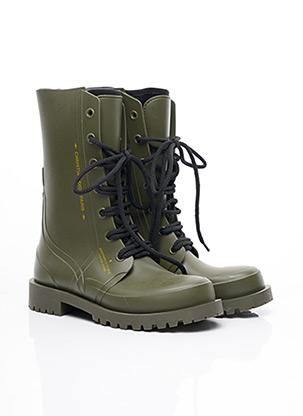 Bottines/Boots vert CHRISTIAN DIOR pour femme
