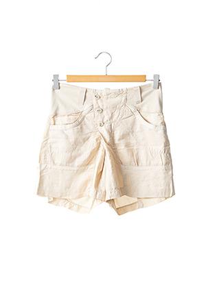 Short beige HIGH pour femme