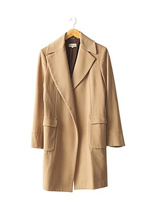 Manteau long beige ALBERTO BIANI pour femme