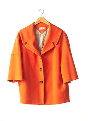 Manteau long orange ALBERTO BIANI pour femme